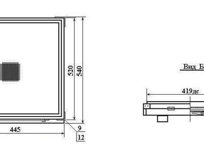 Чертёж 10 рамок (Чертеж дна) №7-1