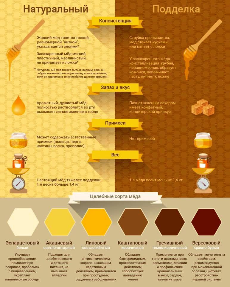 Сравнение меда