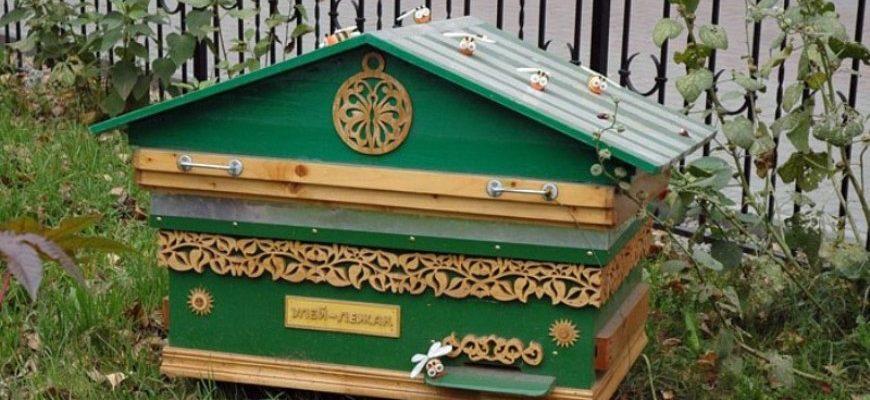 пчеловождение в ульях лежаках